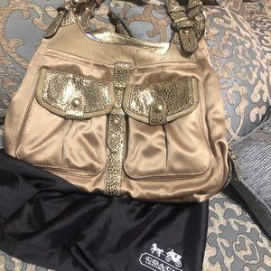 Coach Bags - Coach gold purse